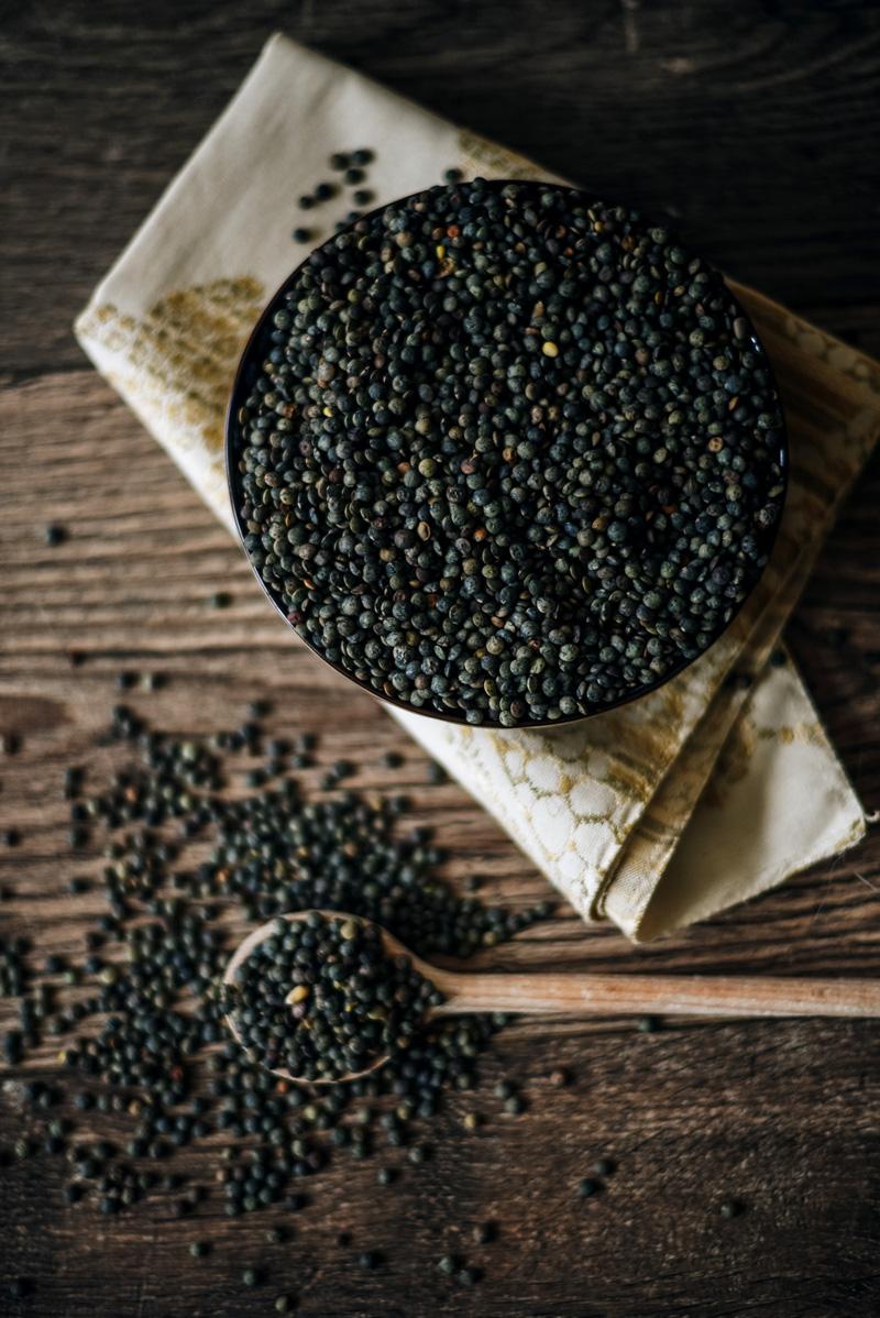 Lentilles Caviar