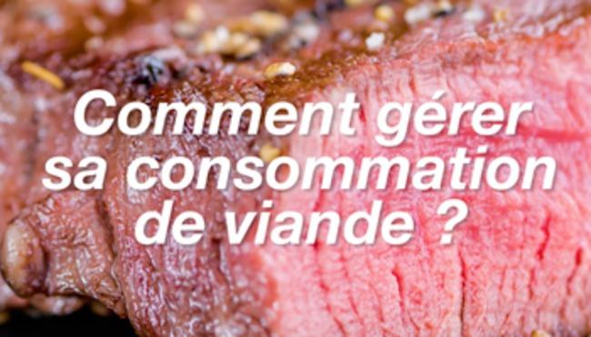 Comment gérer sa consommation de viande ?
