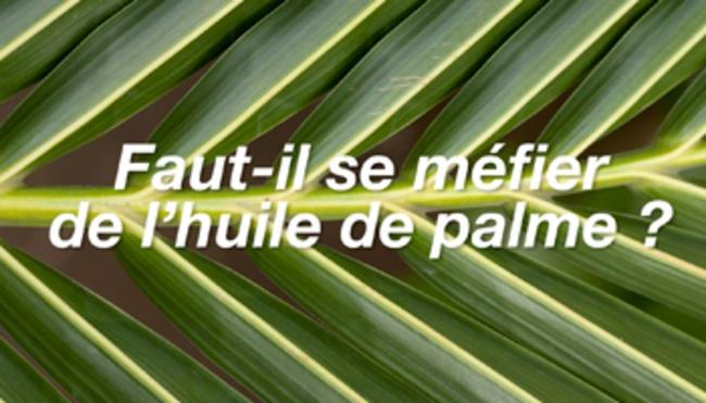 Faut-il se méfier de l'huile de palme ?